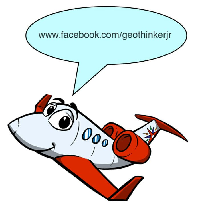 This is Aaron. The GeoThinker Jr airplane! Aaron and GeoThinker Jr are on Facebook. Please connect with us.