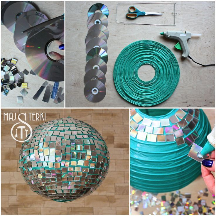 diy from handy girls how to make a disco ball its easy - Decorations Ideas