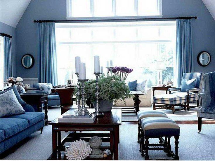 Blue Color Living Room Designs Glamorous 85 Best Living Room Redesign Ideas Images On Pinterest  Blue Inspiration Design