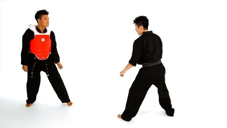 How to Do Sidestep Technique 2   Taekwondo Training