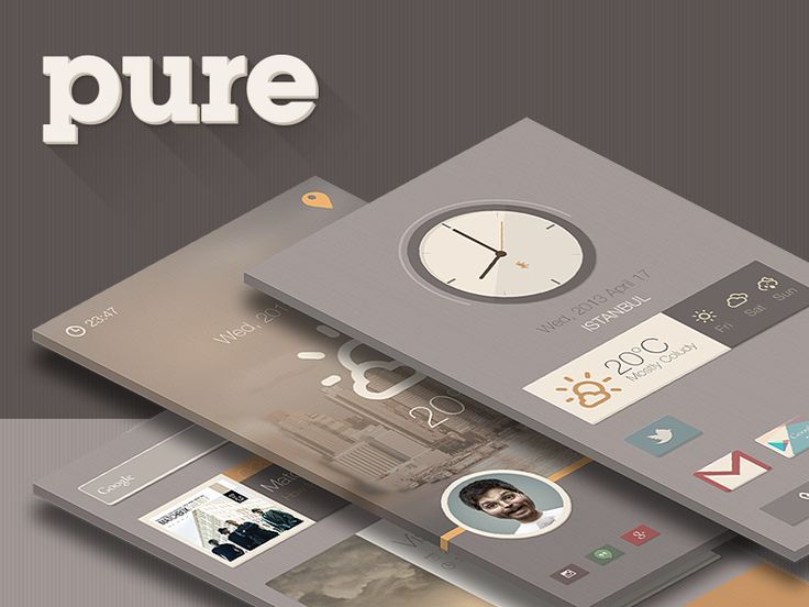 Pure Buzz Launcher Theme by Sencer Bugrahan
