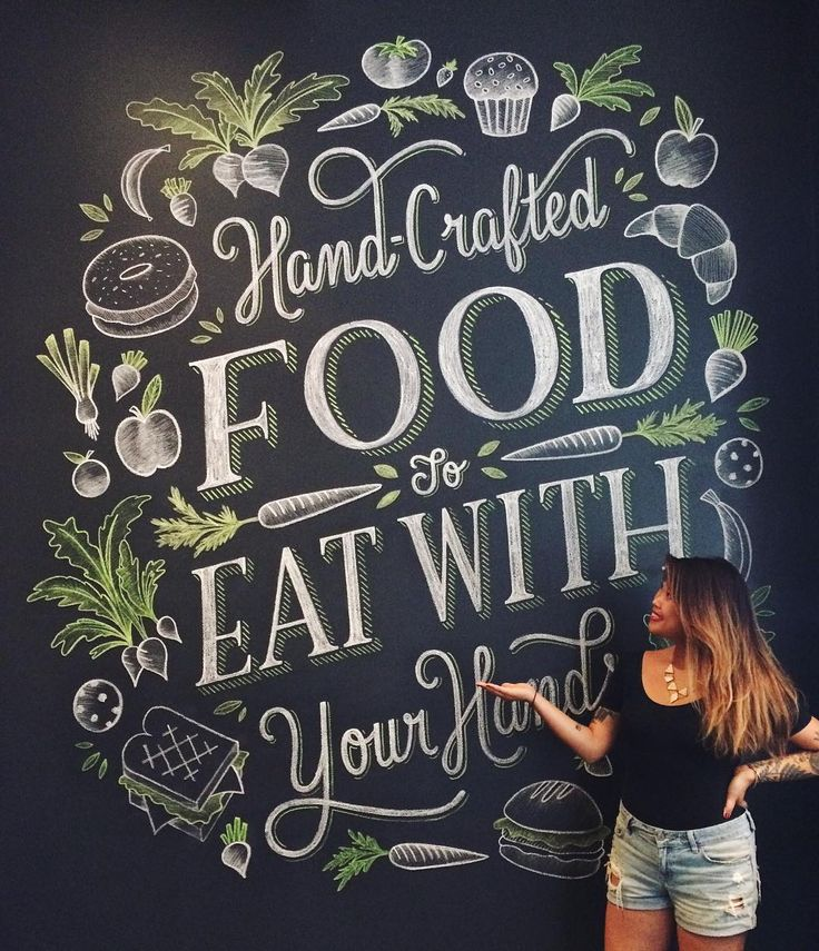Want to learn how to become a chalkboard goddess/wizard/queen? Sign up for my @skillshare class with this link below (and in my profile) and get 3 MONTHS OF UNLIMITED CLASSES FOR 99 CENTS. Not only can you learn all of my chalky secrets but you can sharpen your lettering skills with unlimited access to amazing classes from @marykatemcdevitt @jessicahische @erikmarinovich @martinaflor @spencercharles @neiltasker and more! ALL FOR THE PRICE OF ONE SLICE OF PIZZA. If that won't convince you…
