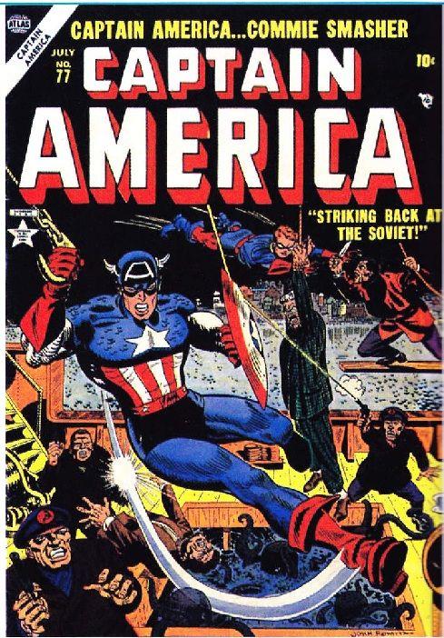 Durant la Guerre froide, la bataille idéologique entre les deux Grands fait rage. Aux Etats-Unis, le cinéma, la littérature, mais aussi la bande dessinée s'inspirent de la réalité pour transposer l'ennemi dans la fiction.