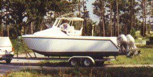 24' Wildcat E-X-T Cuddy - power catamaran-boatdesign