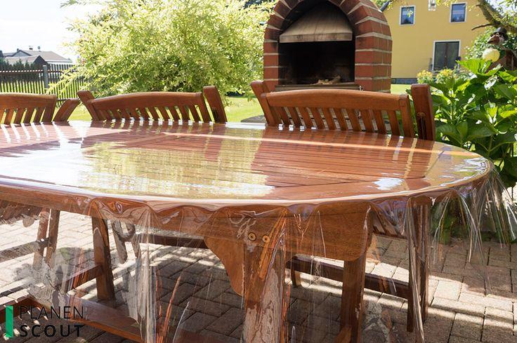 Transparente Tischdecke zum Schutz | transparency to protect your furniture