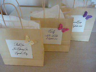 Personalised Pretty Childrens Wedding Favour Activity Bags Filled Or Unfilled