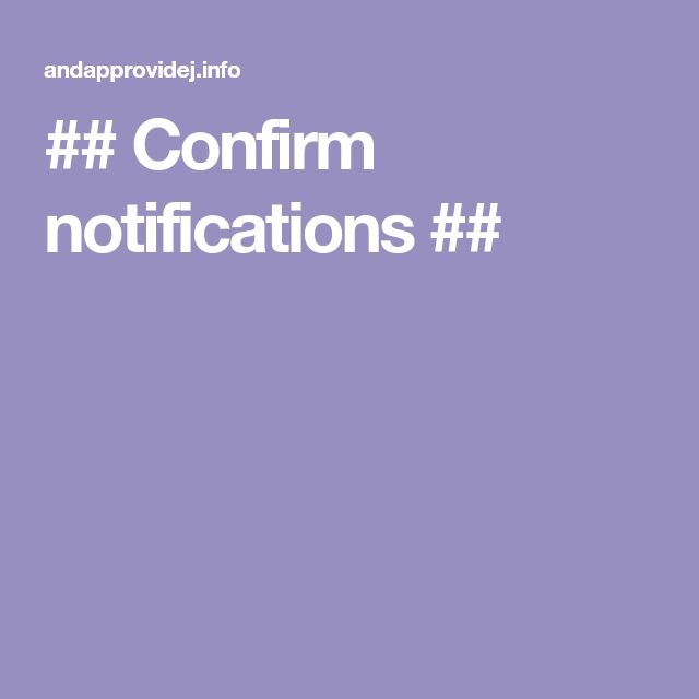 Confirm Notifications En 2020 Pdf Libros Descargar Libros