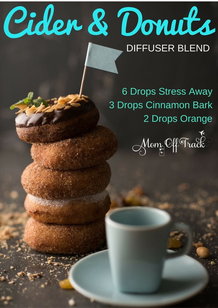 Essential Oils Fall Diffuser Blends | Donuts, Fall and ...