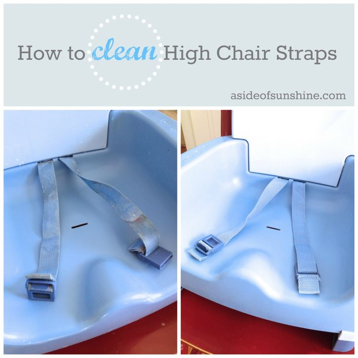 How To Clean High Chair Straps - A Side Of Sunshine. This really works! I just tried it!