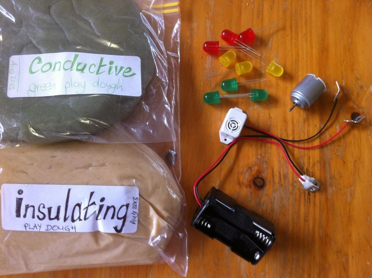 Squishy Circuits Electric Dough Family Science
