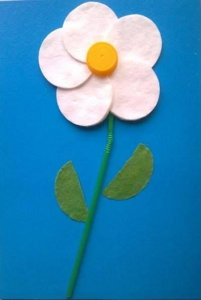 цветы аппликация 3