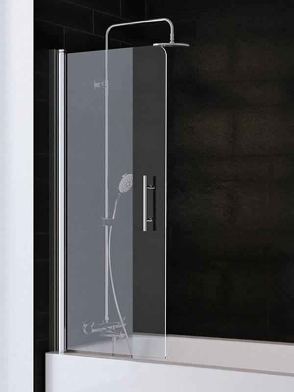 Badewannenaufsatz Duschwand Badewanne Glas Schan Duschtrennwand