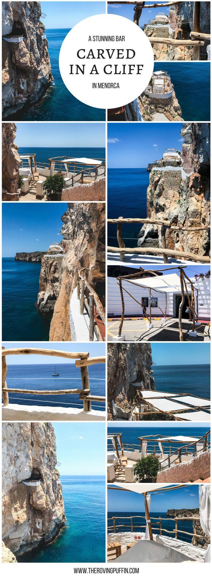 Visit Cova d'en Xoroi - cliff bar bucketlist spain