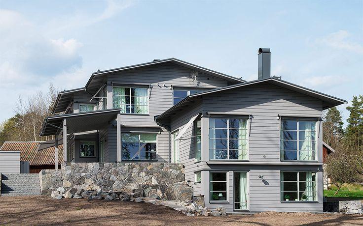 Arkitekt ritat hus från Willa Nordic A2936