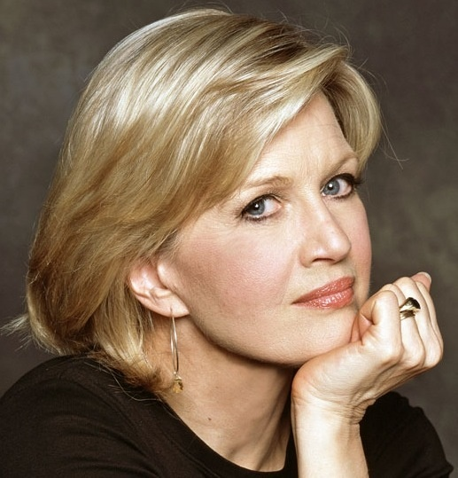 Diane Sawyer Mature Hairstyle BEAUTIFUL FaCeS