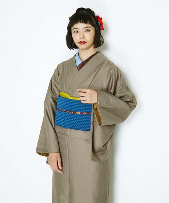 スーパーセール!!【通販限定商品!】「色無地」着物きもの普段着お呼ばれお洒落着和装洗える着物