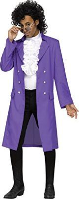 UHC Mens Purple Pain Pop Star Outfit Theme Party Adult Halloween Costume Tag a friend who would look good in this! #PopStar #Halloween #Costume