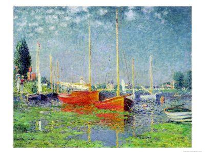 Argenteuil- Claude Monet (1875)