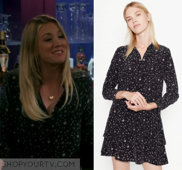 """The Big Bang Theory: Season 10 Episode 22 Penny's Printed Dress 