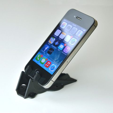 iPhone 4/4S Compatible Pocket Tripod in Black