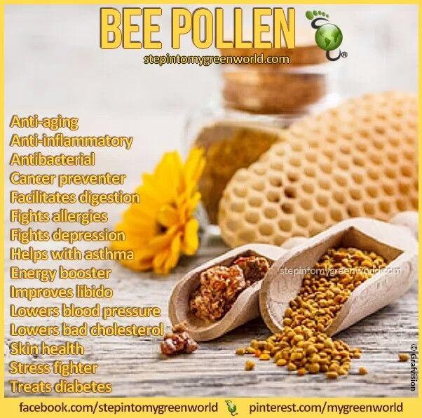 Bee Pollen  Benefits.