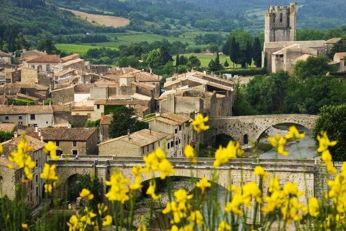 Medieval village of Lagrasse.