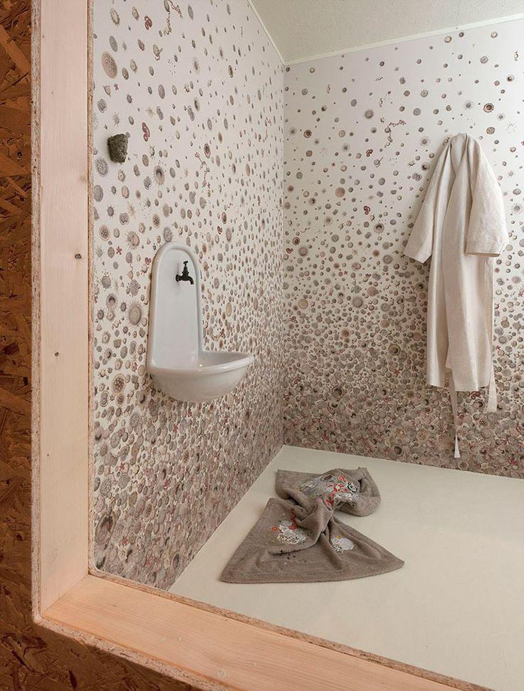 sofie lachaert and luc d'hanis install tranches de vie at grand hornu - designboom | architecture