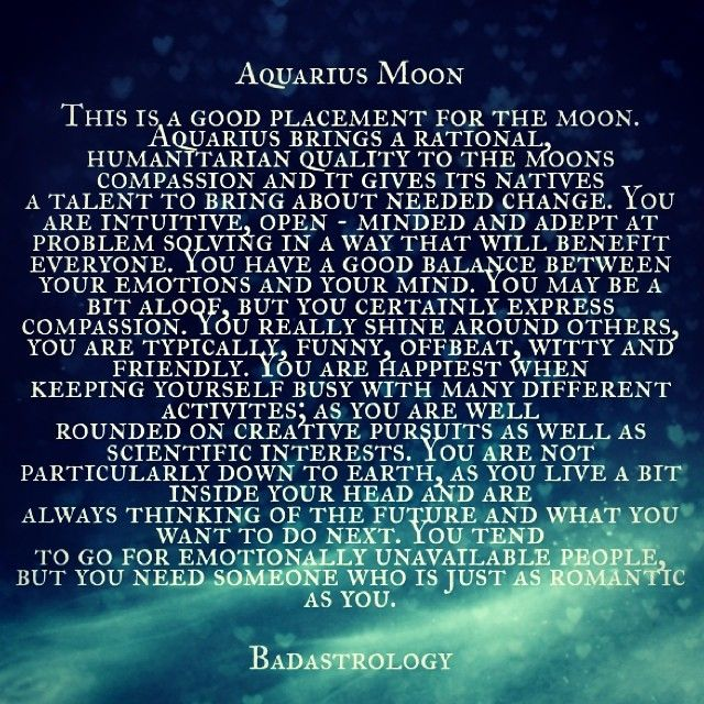 aquarius moon . #Zodiac #Astrology For related posts, please check out my FB page: https://www.facebook.com/TheZodiacZone