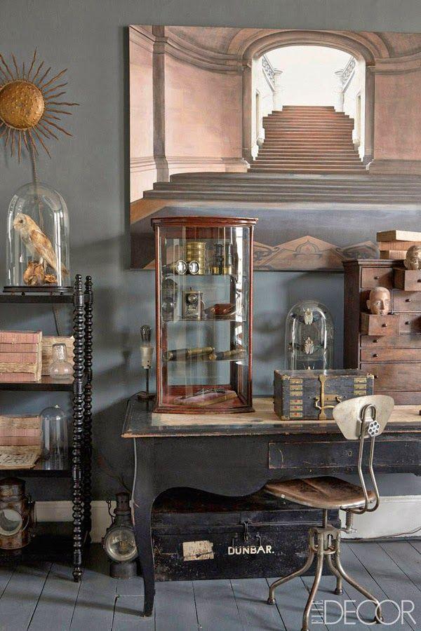 Oda a la pátina (o la casa de una anticuaria inglesa en Brighton) · The home of an antique dealer in Brighton