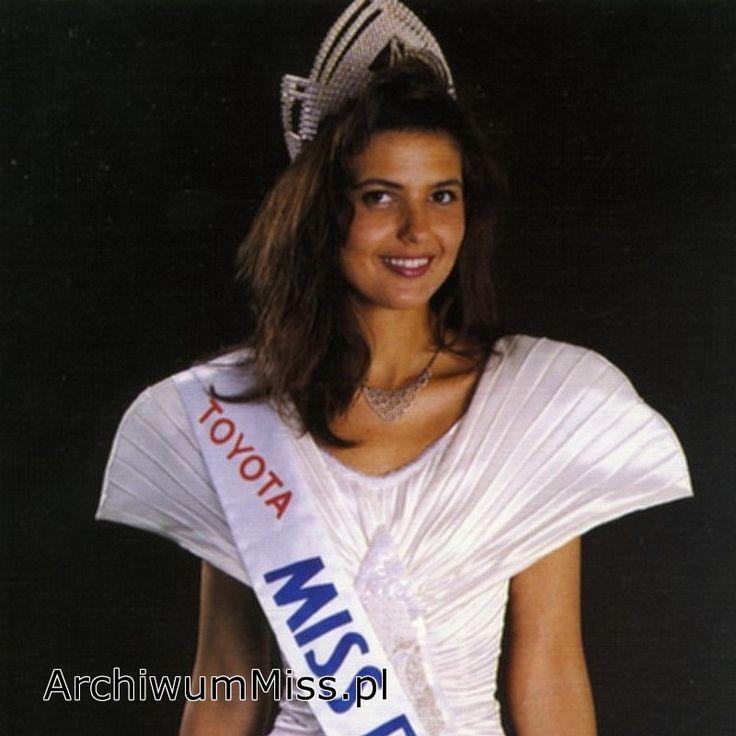 Elżbieta Dziech #MissPolski 1992 #winner #najpiekniejszapolka #themostbeautifulgirl #misspoland