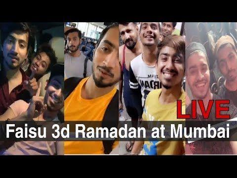 Mr  Faisu live in Mumbai| faisu live video | faisu live on instagram