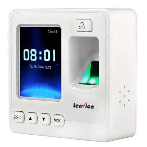 The SF100 is an IP based fingerprint standalone device that works both in network and standalone mode, and it work with AttendHRM software for access control and time attendance.