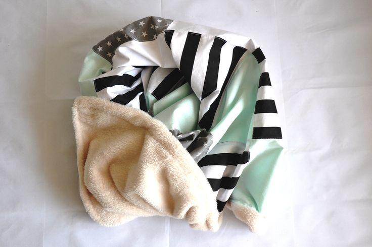 Soft Baby patchwork blanket