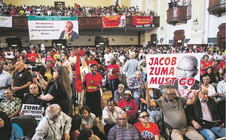 Verwoede mobilisering om van Zuma ontslae te raak