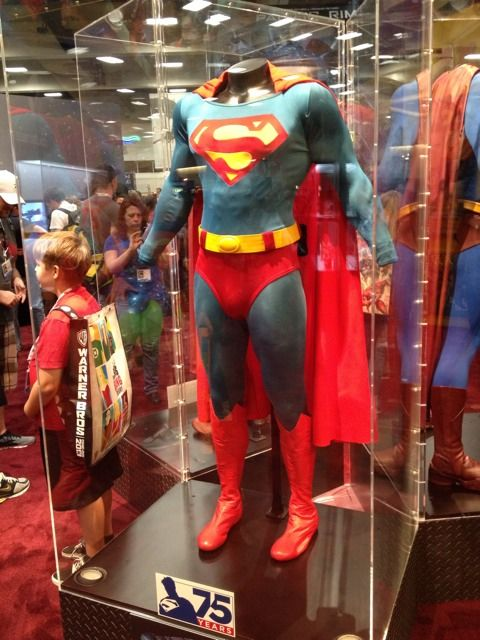Christopher Reeves Superman suit