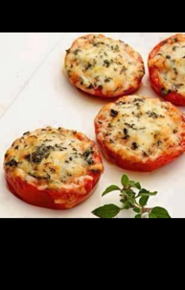 Trying to cut back on starches in your diet? Try making our Cheesy Bruschetta recipe in The Pampered Chef Rockcrok, substituting tomatoes for bread. Delish!