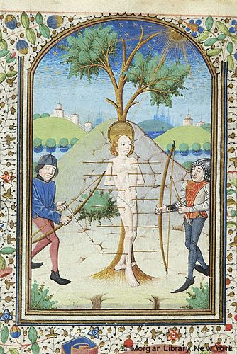 Book of Hours, MS G.55 fol. 120v - Images from Medieval and Renaissance Manuscripts - The Morgan Library & Museum