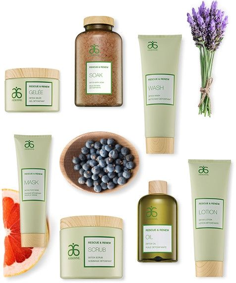 Rescue & Renew   Arbonne new products formulated with essential oils and botanicals.