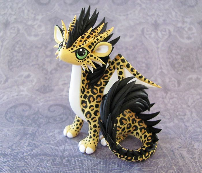 Leopard-dragon by DragonsAndBeasties.deviantart.com on @deviantART
