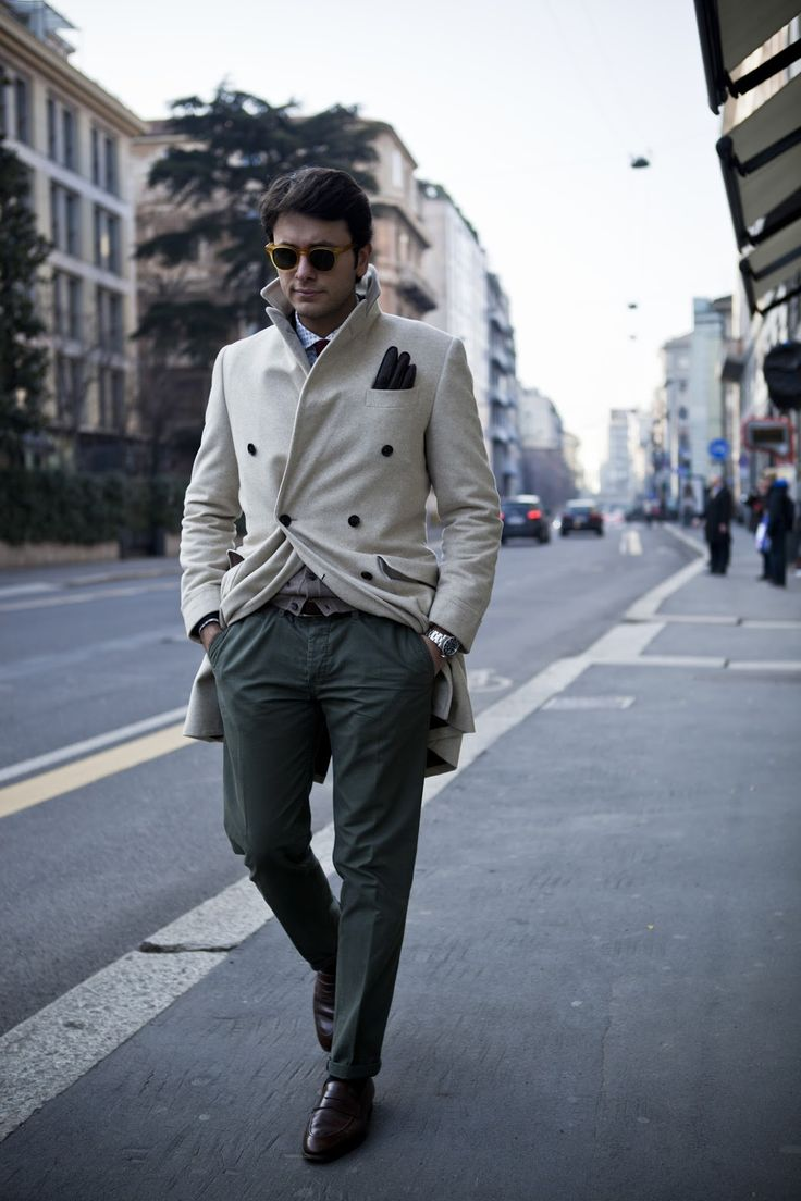 "Seventh picture in Fabio Attanasio's blog post ""MERANO COAT"". Model: Fabio Attanasio."
