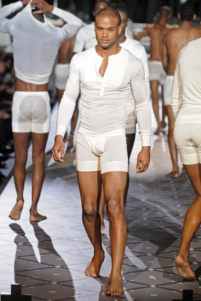Mens nude fashion show 92