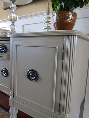 Lulabelles View: A New Look for an Old Sideboard