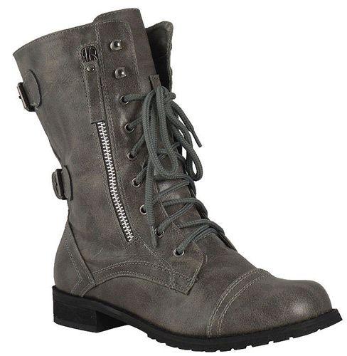 botas militares para mujer