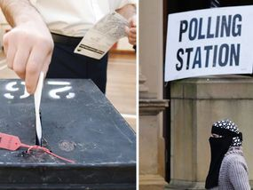 VOTERS in towns and cities with a high Muslim population must show their passports or driving licenses in order to cast their ballots amid fears of election fraud, the Government has announced.