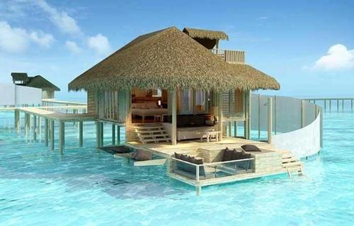 wanna try this luxury hotel traveler? Let's go to Maldives! http://www.nusatrip.com/id/lokasi/asia/maladewa #nusatrip #travel #travelingideas #Holiday #onlinetravelagency #maldives #resort #beach #destination #asia