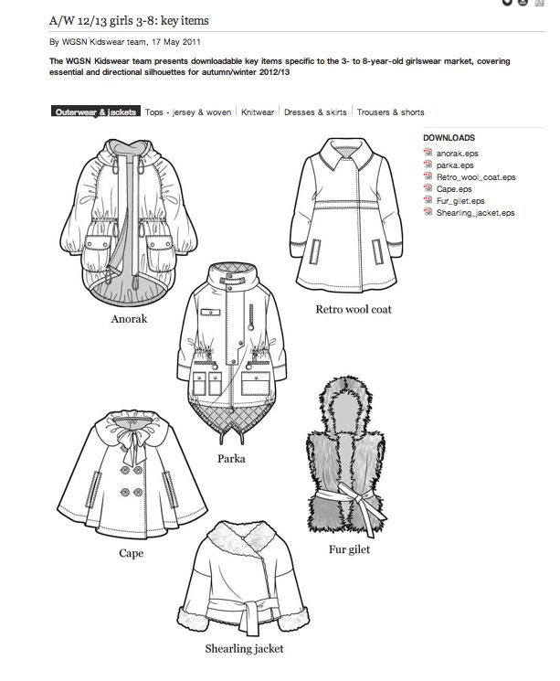 WGSN Technical Reference