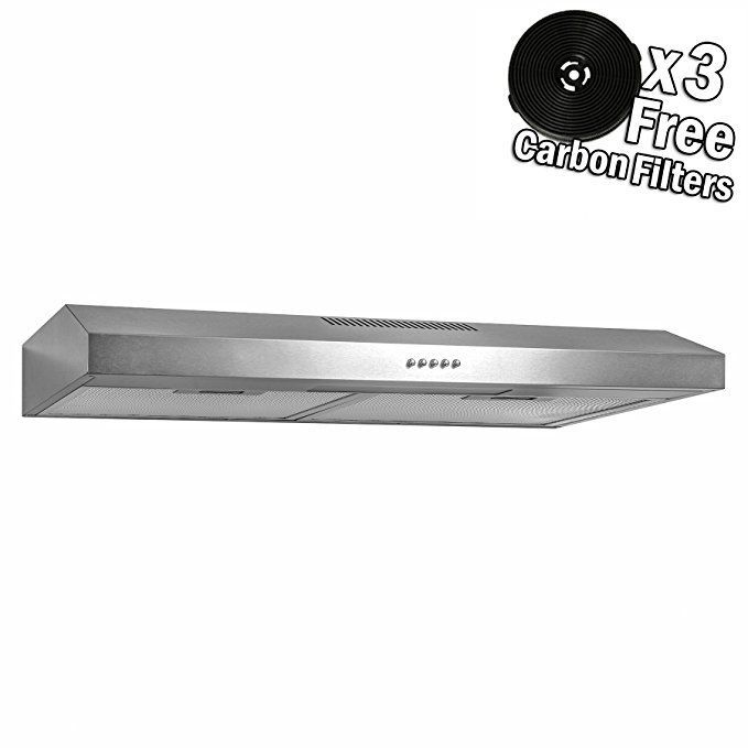 Akdy 30 Stainless Steel Under Cabinet Kitchen Grease Filters Range Hood Review Kitchenrangegreasefilters Kitchen Range Hood Range Hood Kitchen Range