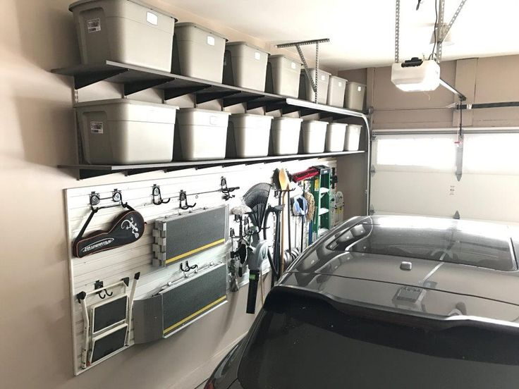Custom Garage Organization by Closets For Life - Now is the perfect time to get your garage organized for spring and summer. Give us a call or visit our website at www.closetsforlife.com for a free consultation and design. #closetsforlife #garageorganization #garage #garagestorage