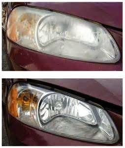 Money Saving Tip: Clean Car Light Lens
