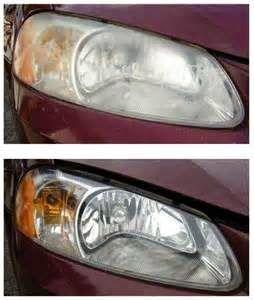 Money Saving Tip: Clean Car Light Lens